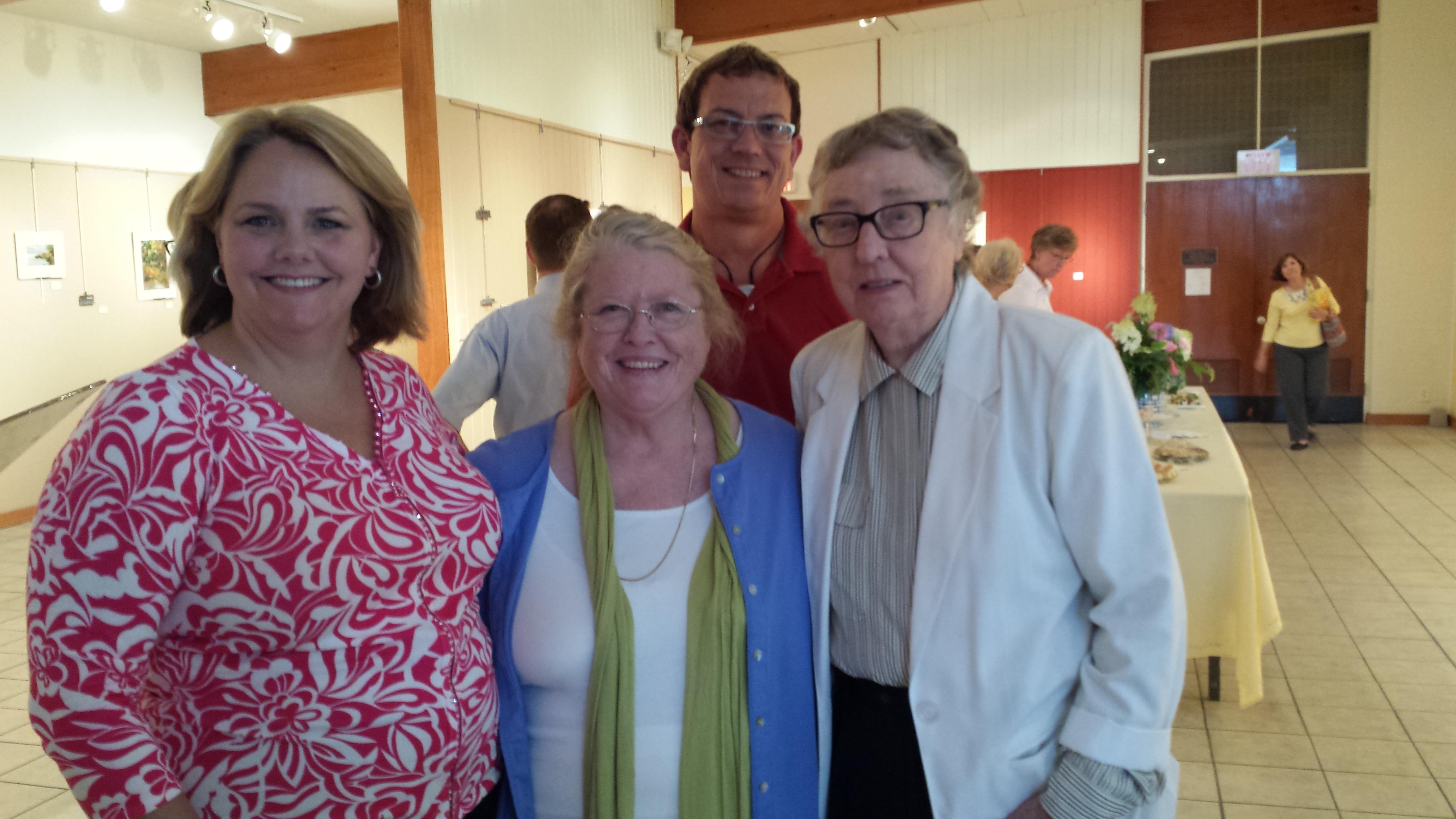 Mary Austin, Sue, and Mrs. Rawls