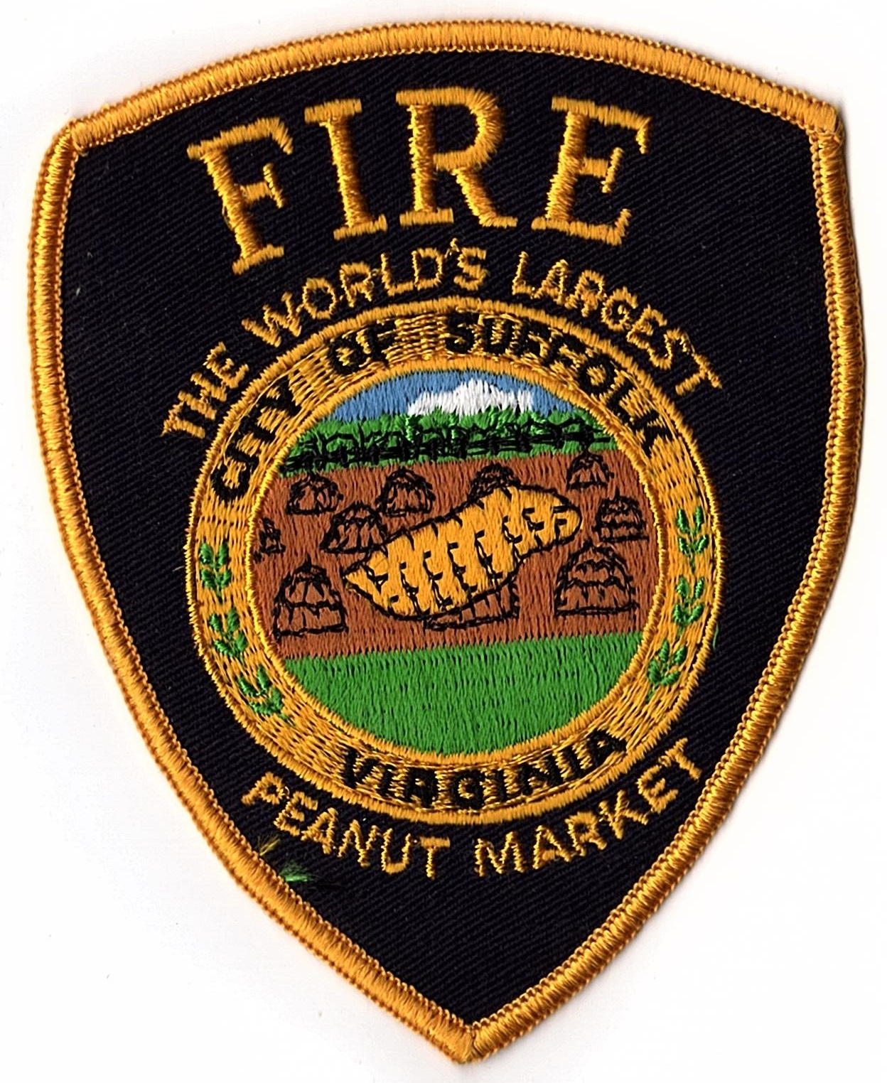 City of Suffolk Fire Department Patch