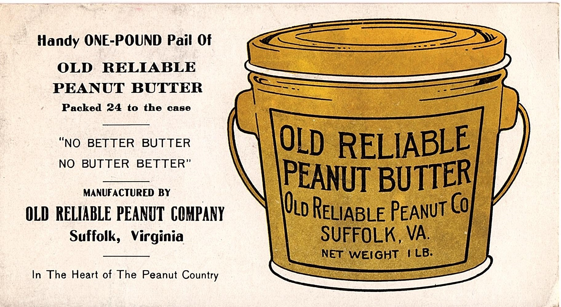 Old Reliable Peanut Butter